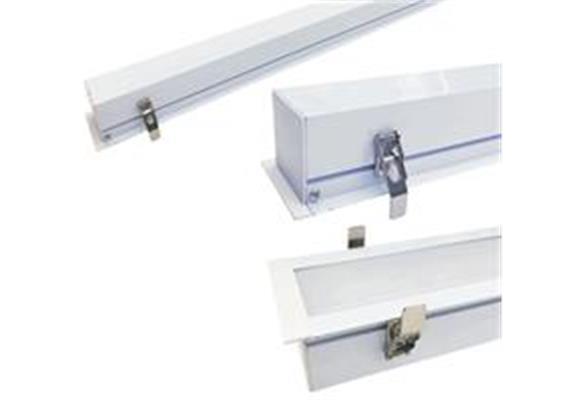 Einbau-Deckenleuchte IK09 1480 x 85 x 65mm 60W