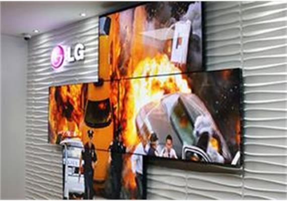 "Indoor Video Wall Monitor LG 55"""