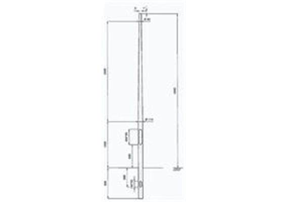 single pole 3m