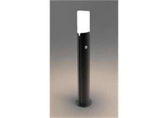 Wegleuchte Aluminium schwarz mit PIR Sensor