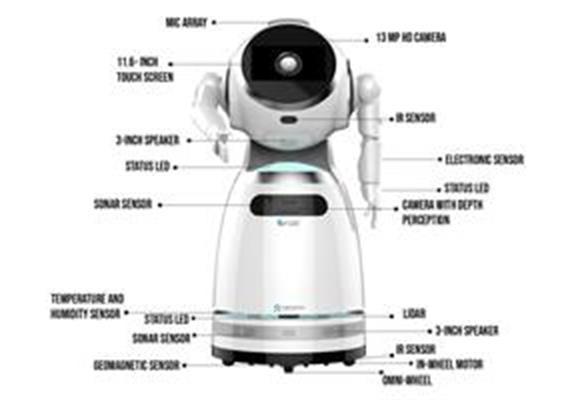 Cruzr Antiepidemic Robot
