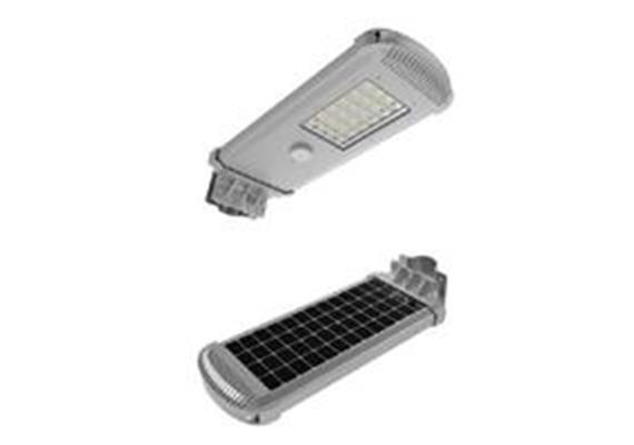 Solarleuchte Strasse 10W mit Sensoren